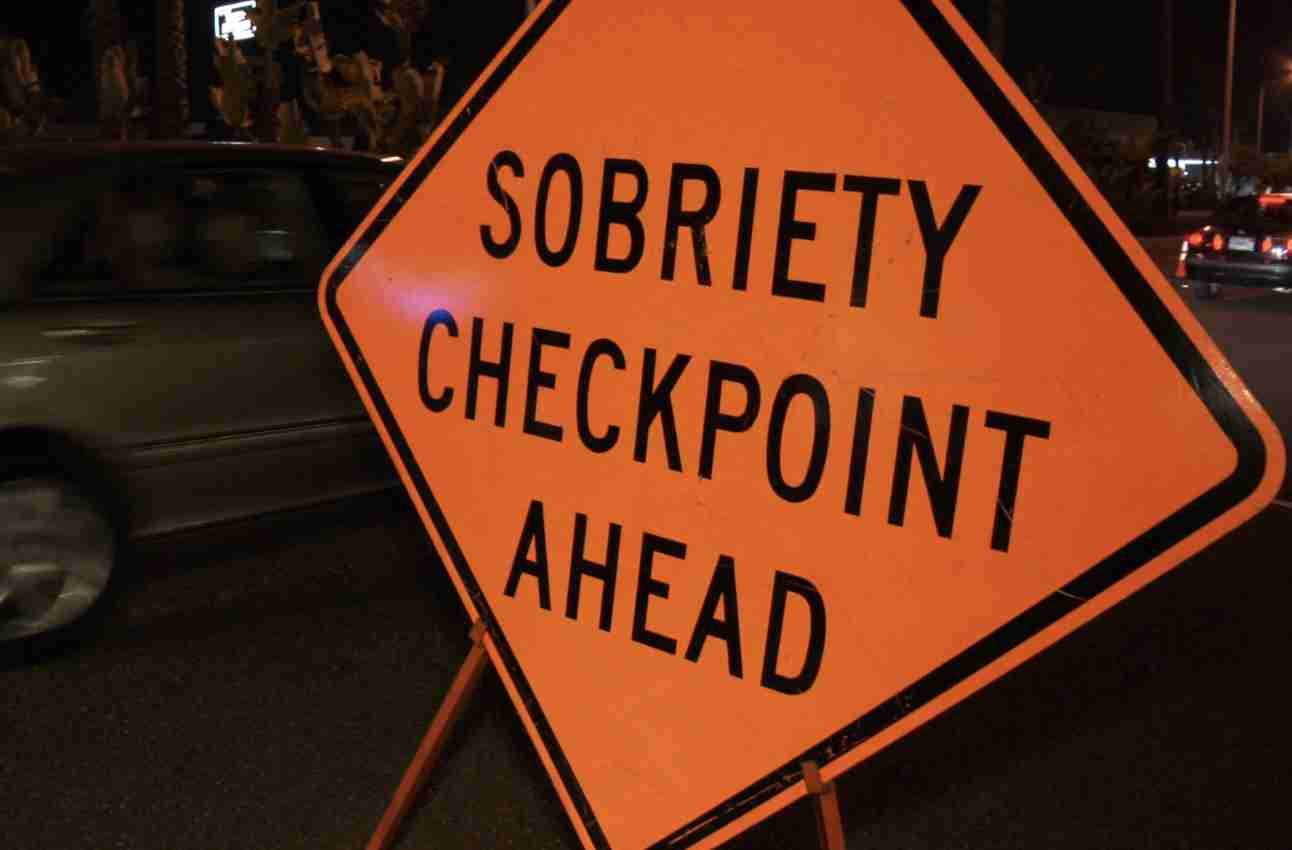 DWI Checkpoint nj
