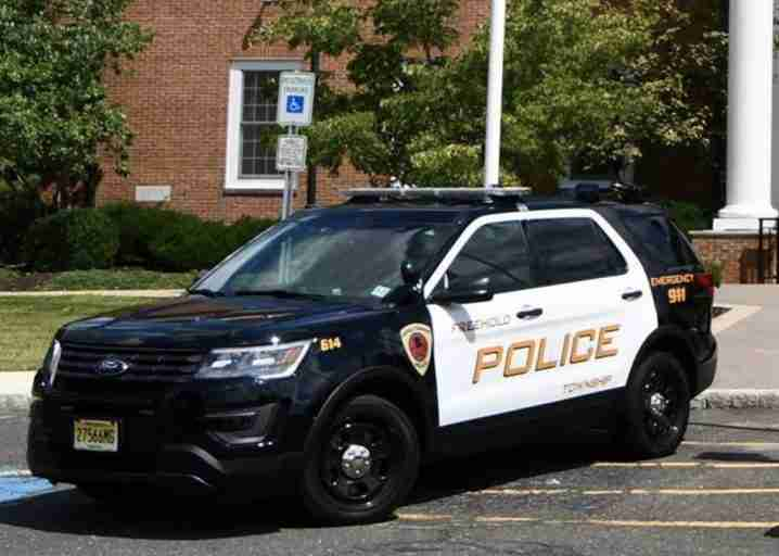 Freehold Township police department bomb