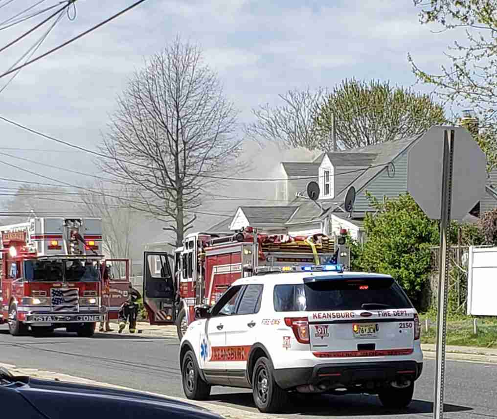 House fire fire 35 kennedy way keansburg fire keansburg nj