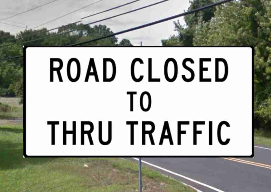 Middletown road detour april 23 24 2019 holmdel