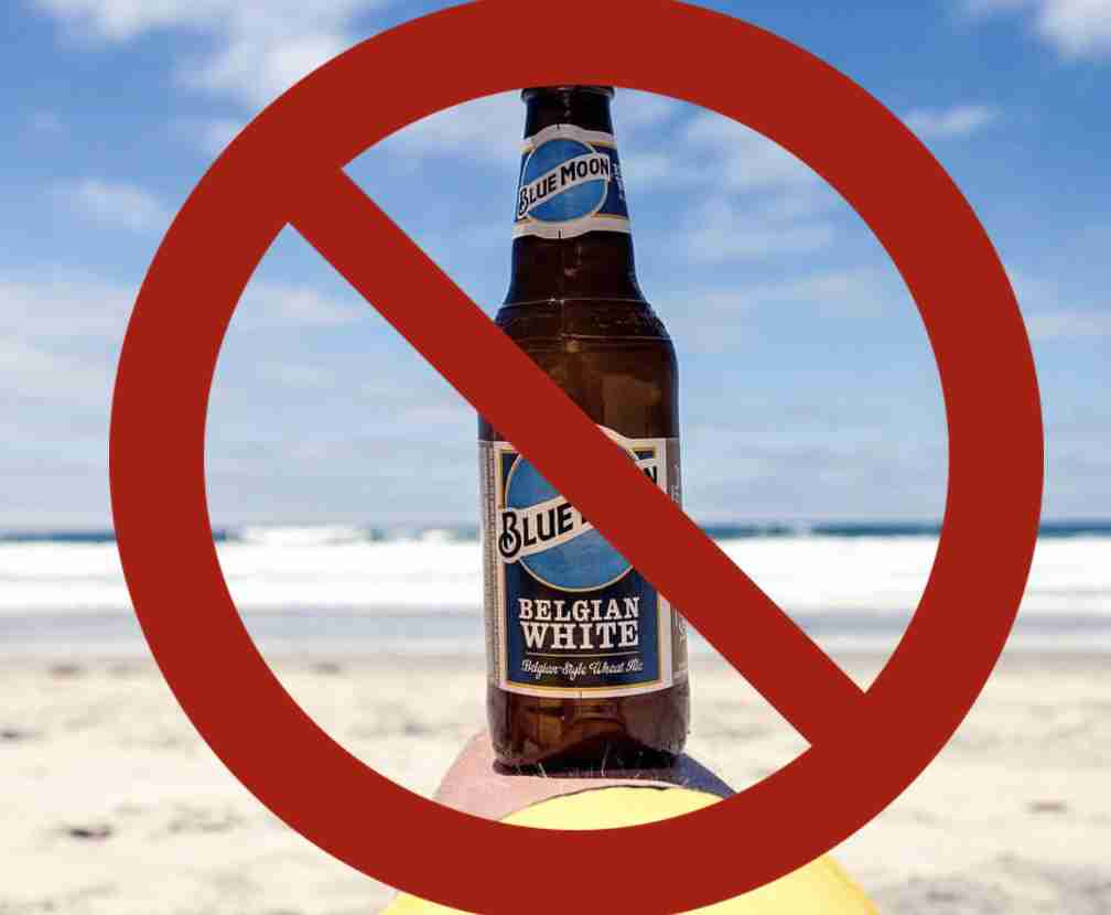 Sandy Hook Beaches ban alcohol