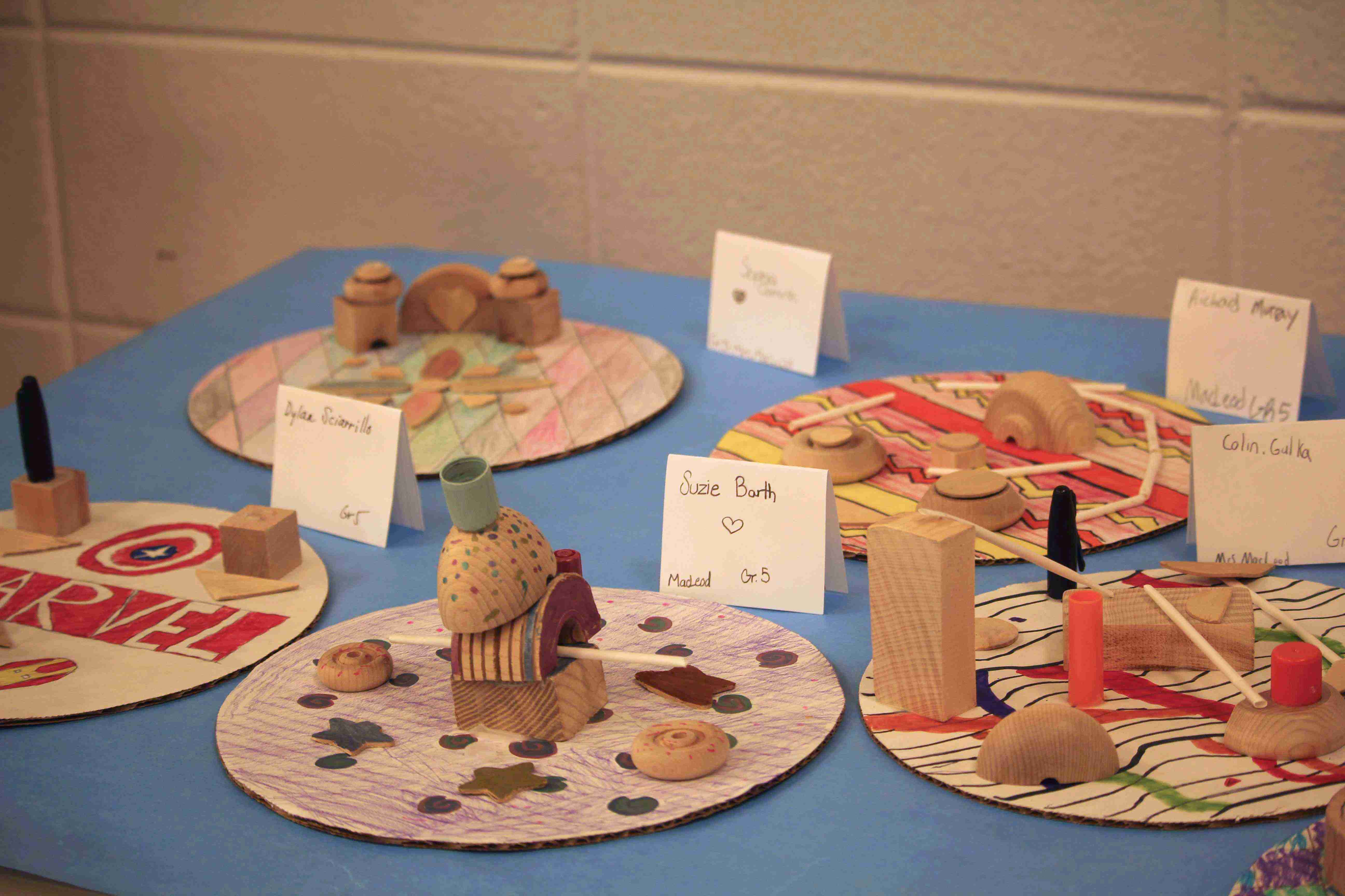 Conover Road Elementary Art Show 2