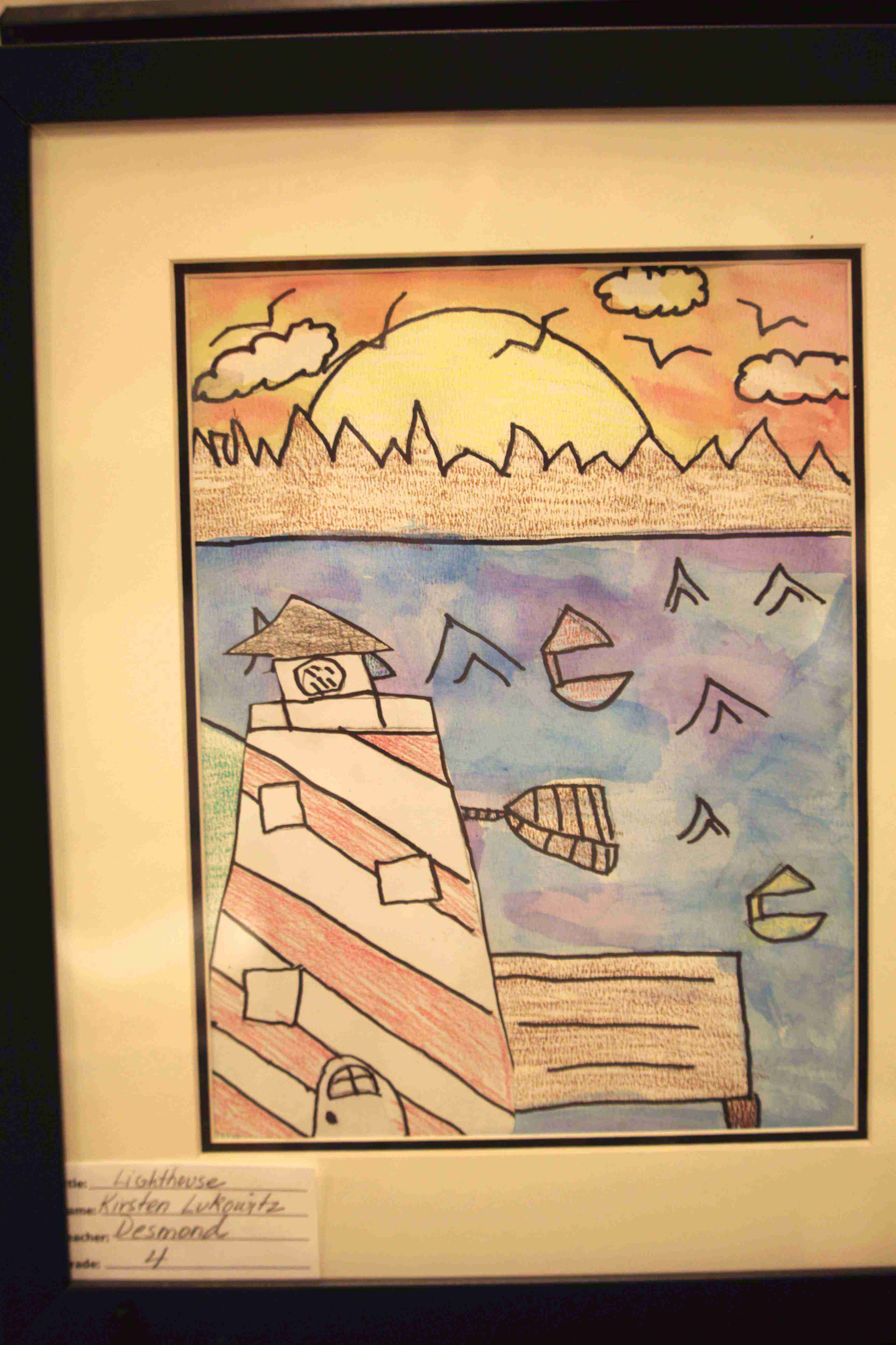 Conover Road Elementary Art Show 3