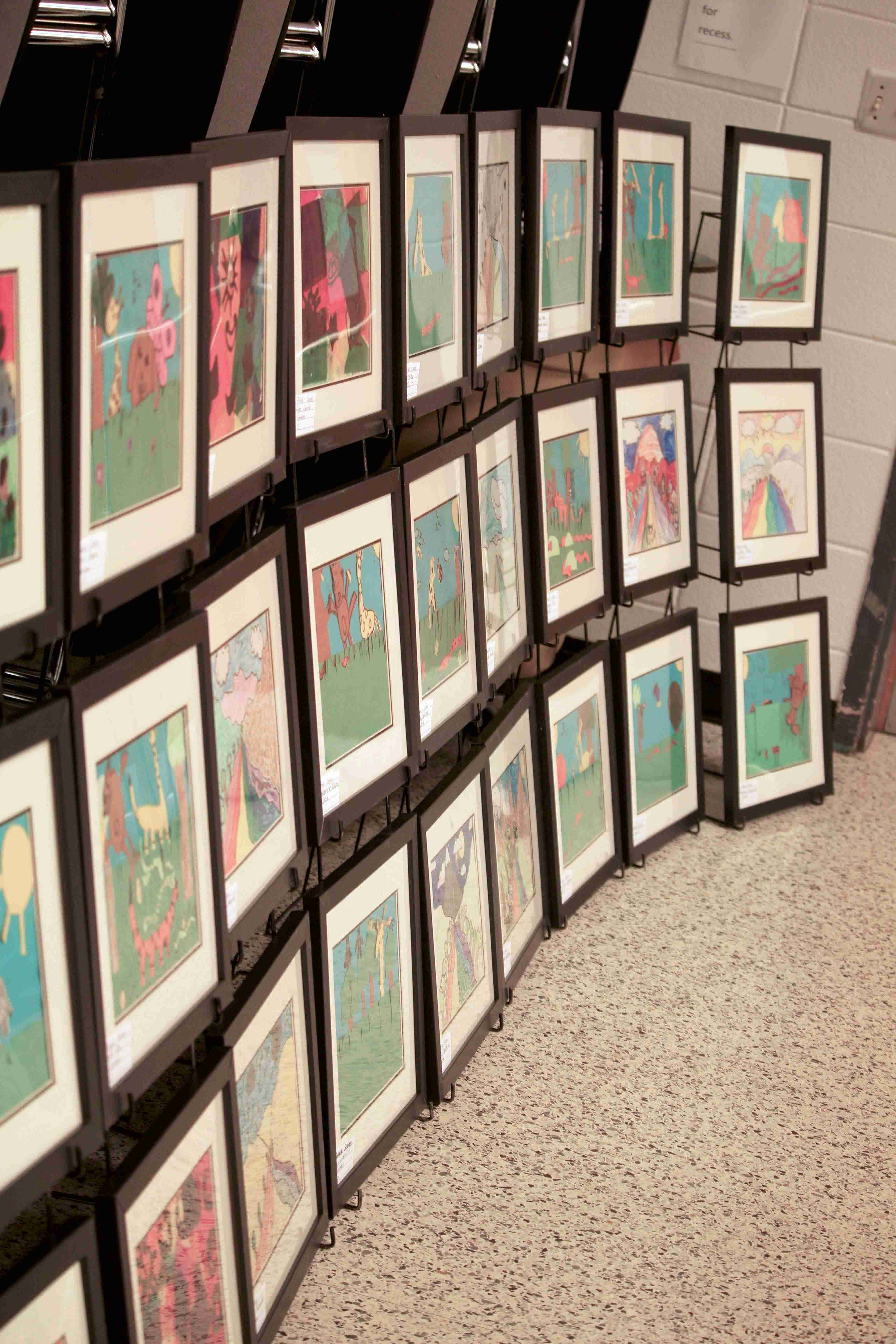 Conover Road Elementary Art Show 7