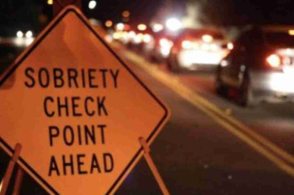 DWI Checkpoint may 17 2019 highway 35 asbury