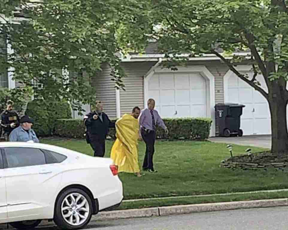 Middletown Hunters Pointe Naked arrest nj