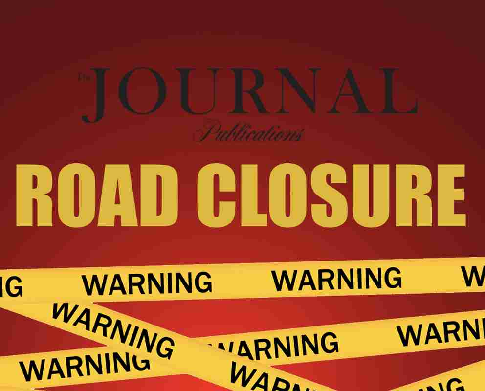 ROAD CLOSURE MAY 2 HOLMDEL