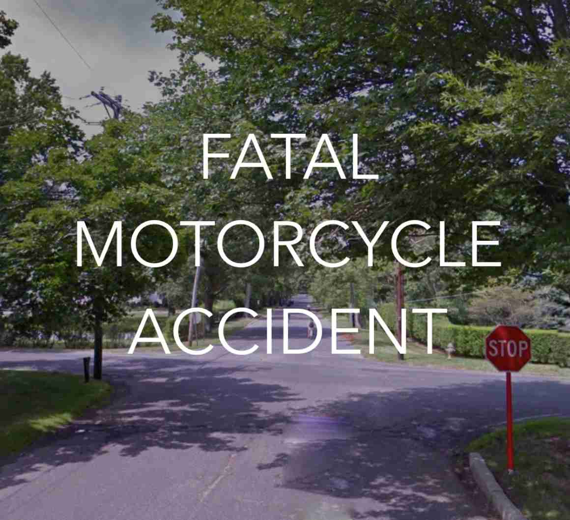 RUMSON ATLANTIC HIGHLANDS FATAL MOTORCYCLE ACCIDENT MAY