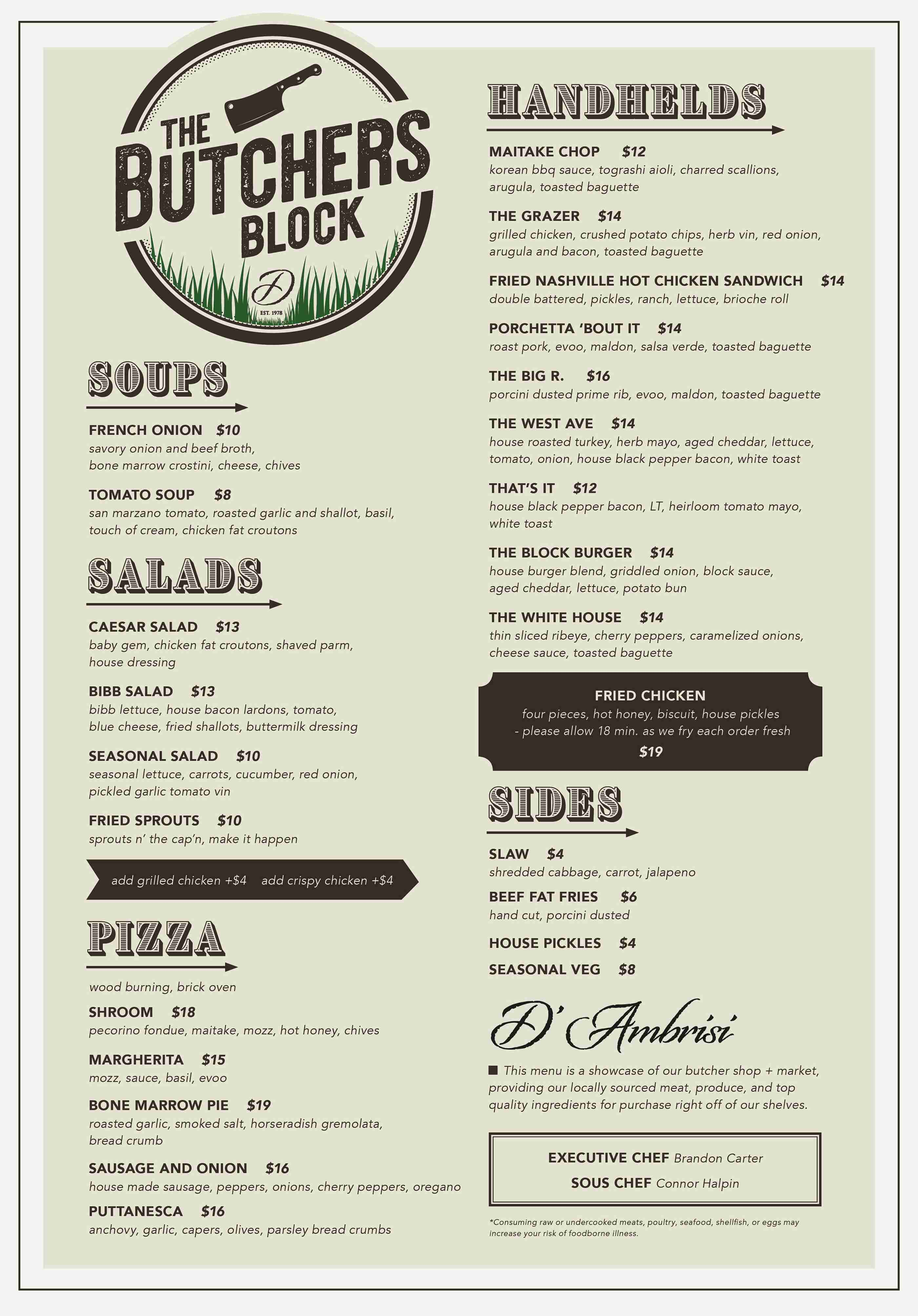 The Butcher's Block Dambrisi Long Branch 8
