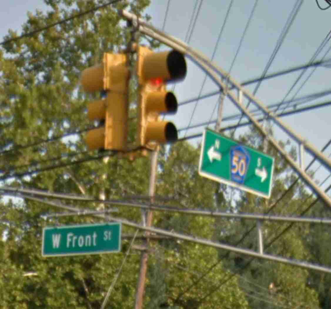 middletown Lincroft Rd. between West Front St. and Rt. 520