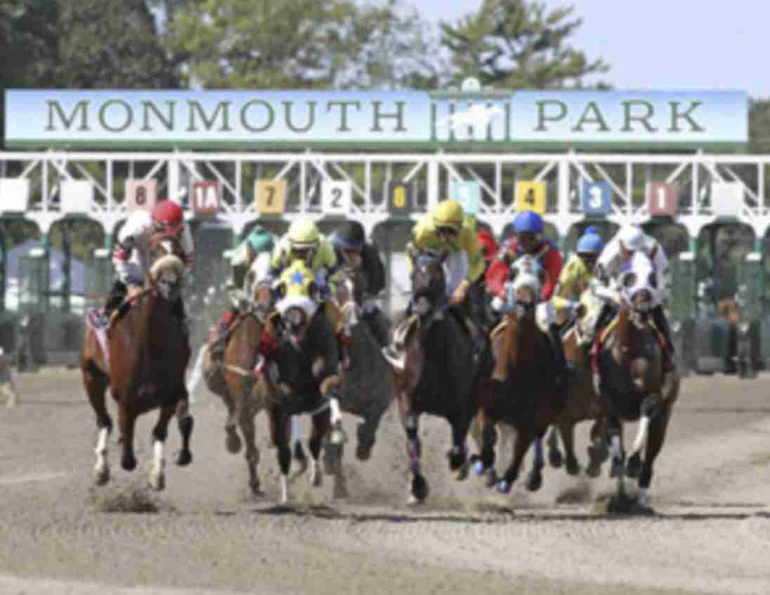 monmouth park racetrack day at