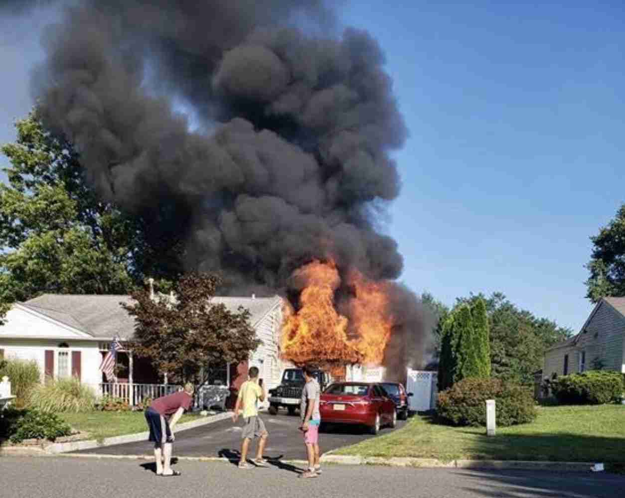 Tinton Falls August 12 2019 House Fire