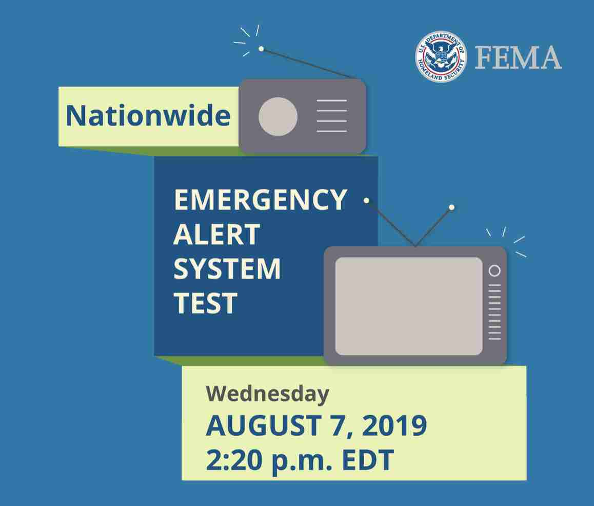 fema aug 7 national testing