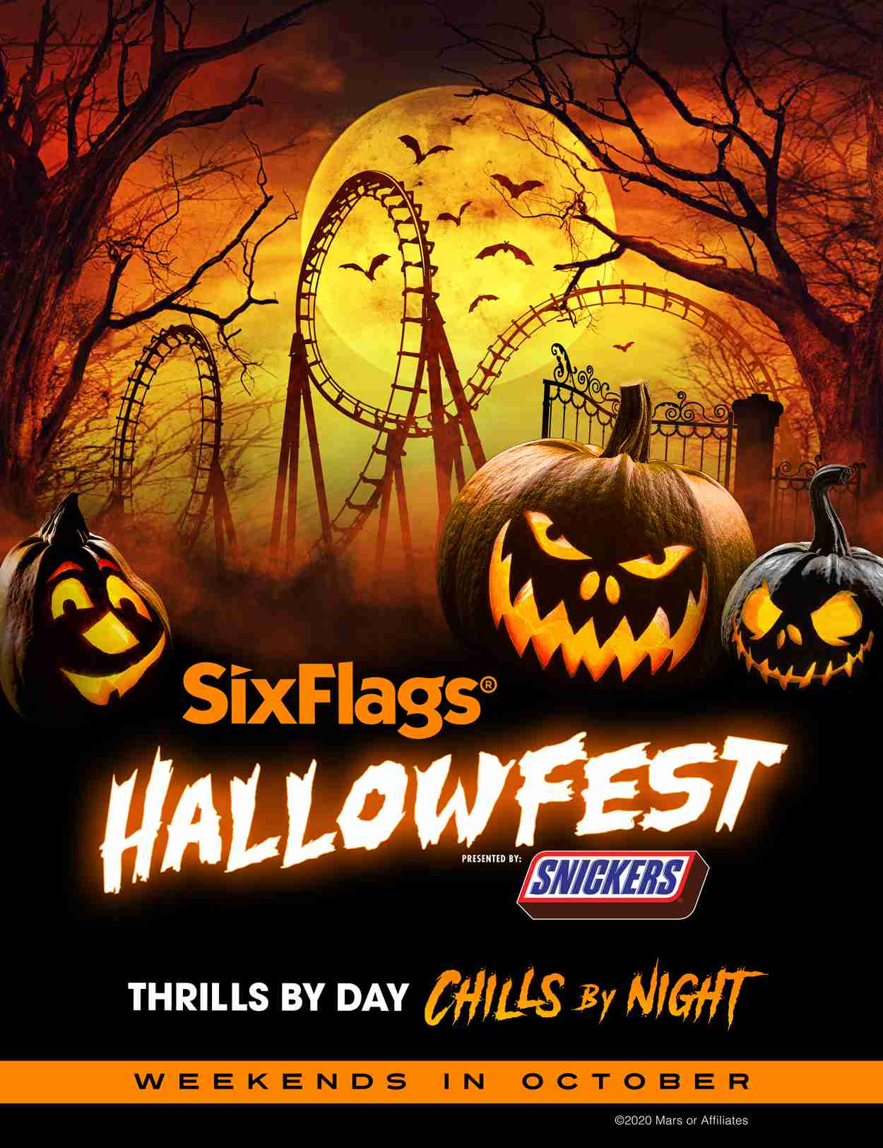 Great Adventure Halloween 2020 Six Flags Great Adventure Changes Fall Operations, Introduces
